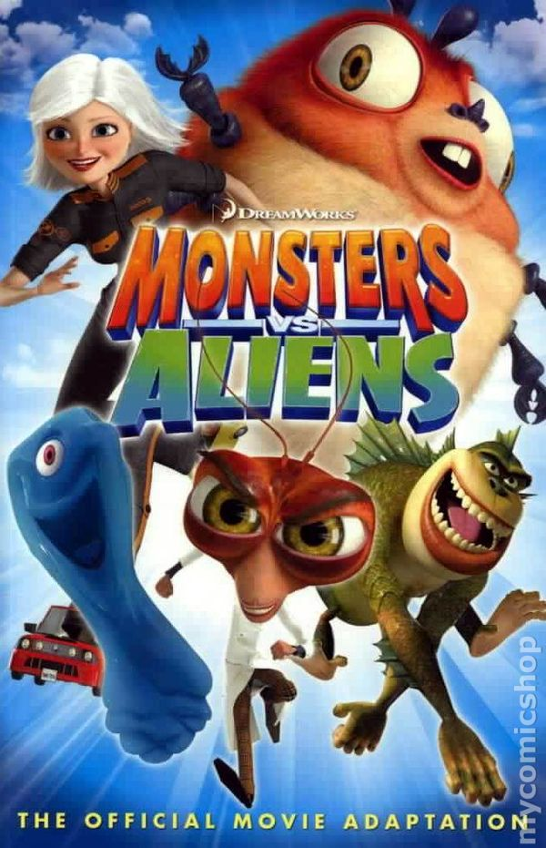 You Monsters vs aliens amusing