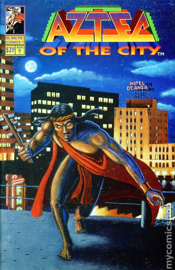 aztec of the city volume 2  1995  comic books