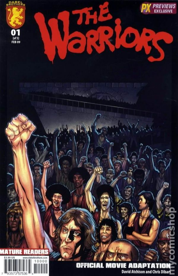 The Warriors Comic Book