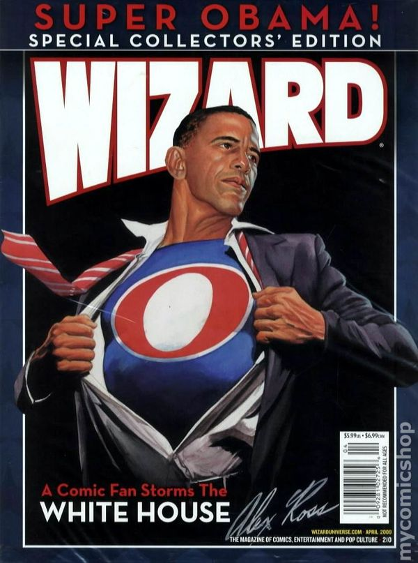 Comic books in other obama comics wizard the comics magazine 1991 210cp sciox Image collections