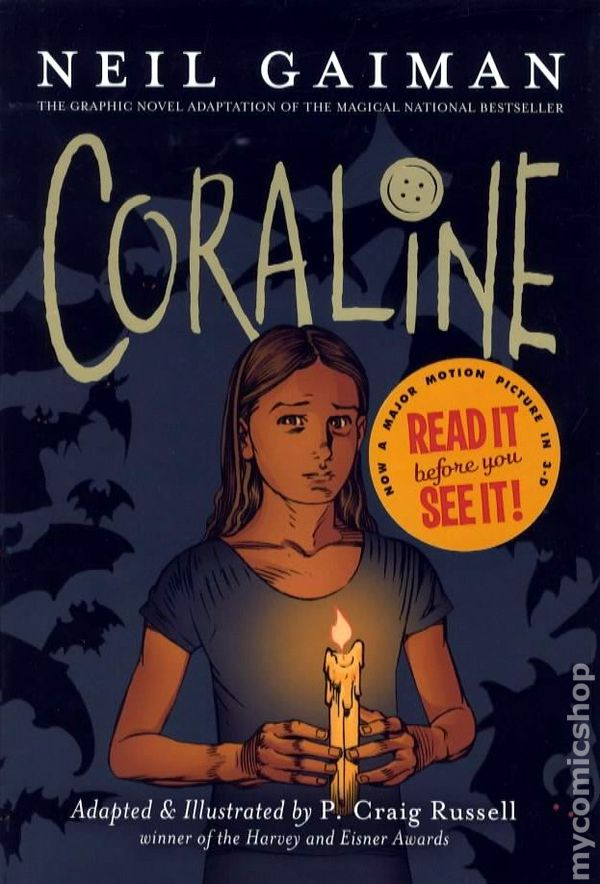 coraline neil gaiman book report I would buy this book to share with my friends,  coraline: author: neil gaiman publisher: harpercollins  neil gaiman publisher.