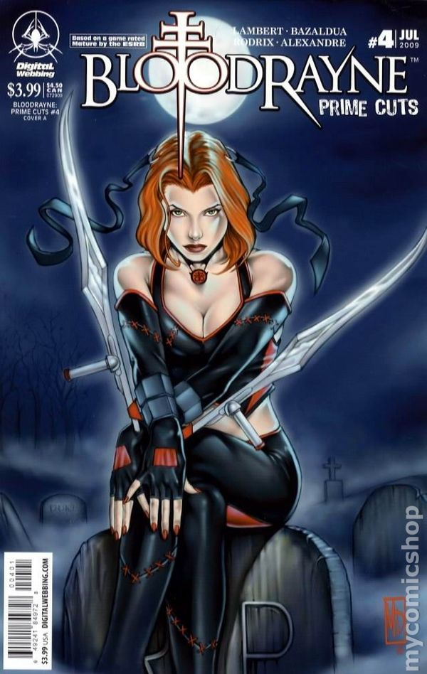 Bloodrayne Prime Cuts 2008 Comic Books