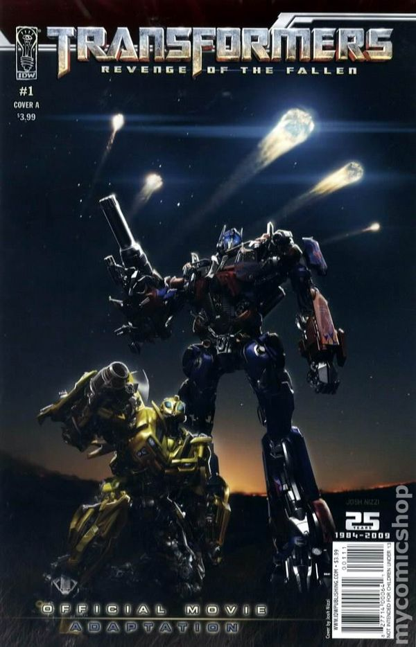 Transformers Revenge Of The Fallen Movie Adaptation 2009 Comic Books