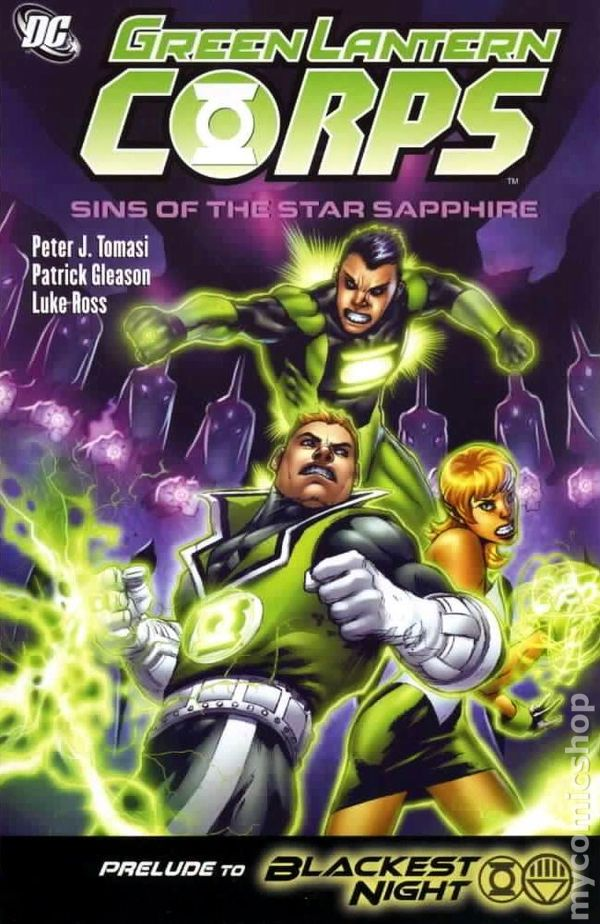 comic books in green lantern corps tpb