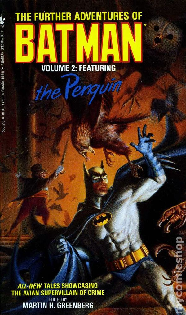 further adventures of batman pb 1989 bantam novel comic. Black Bedroom Furniture Sets. Home Design Ideas