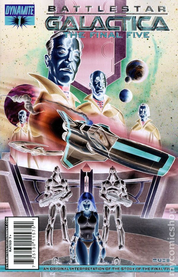 Battlestar Galactica The Final Five Comic #4 A Dynamite 2009 Near Mint Science Fiction & Horror