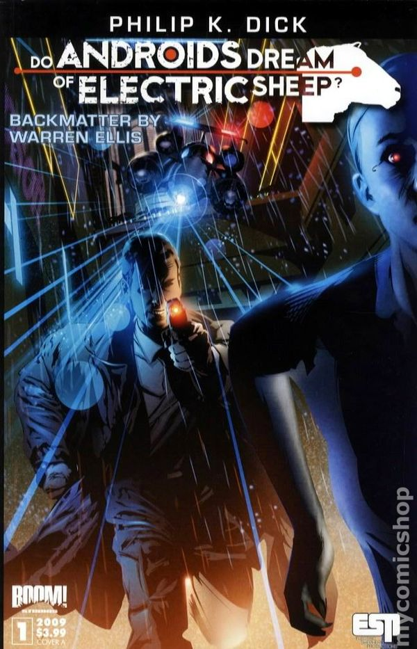 do androids dream of electric sheep comic books issue