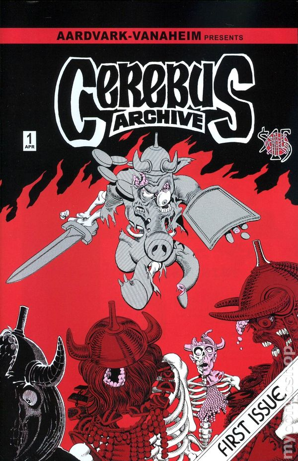 Cerebus Archive 2009 Comic Books