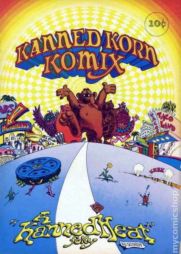 Kanned Korn Komix 1969 Comic Books
