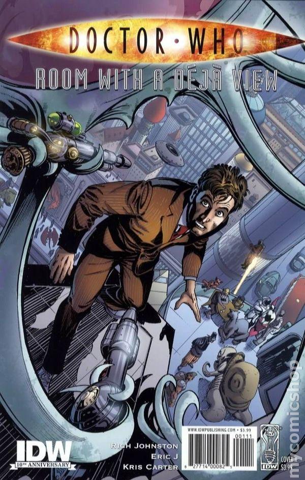 doctor who room with a deja view 2009 idw comic books rh mycomicshop com