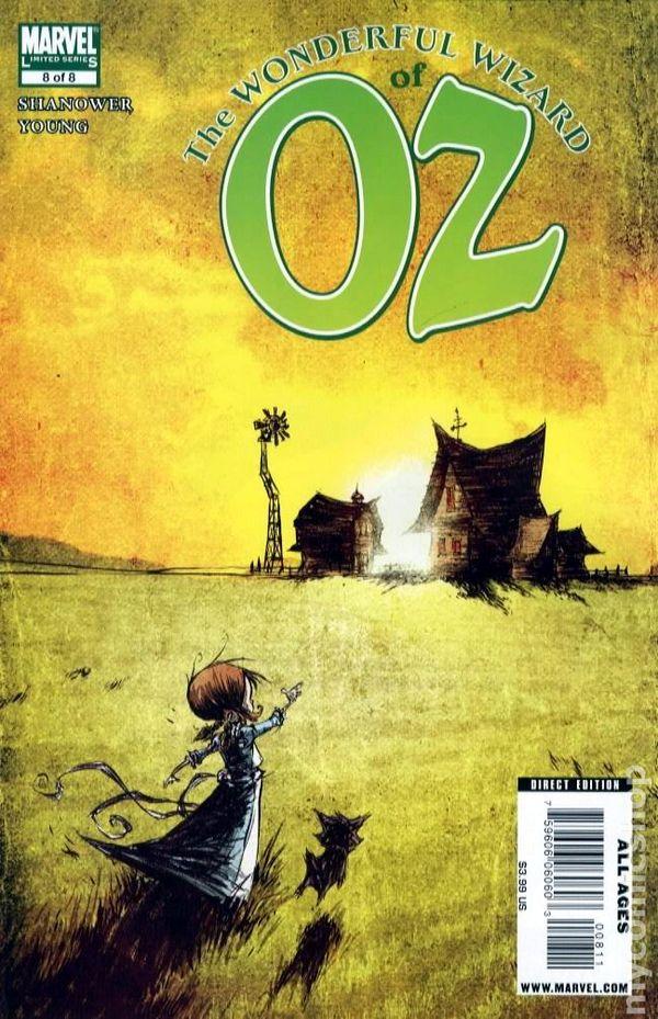 wonderful wizard of oz 2008 marvel comic books