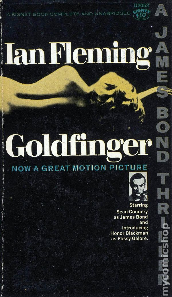 Image result for goldfinger novel