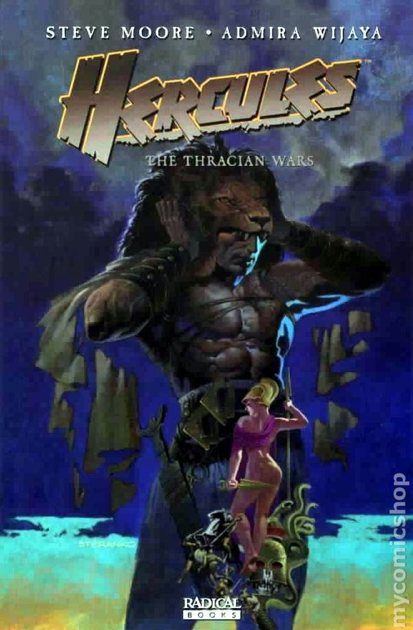 Hercules The Thracian Wars TPB (2009 Radical) comic books