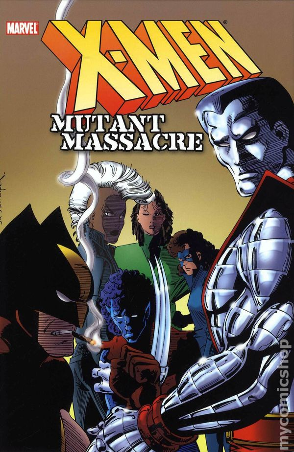 Comic books in 'Mutant Massacre'