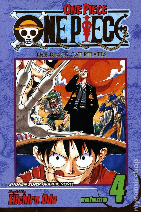 One Piece TPB 2003 Viz Digest 4 1ST