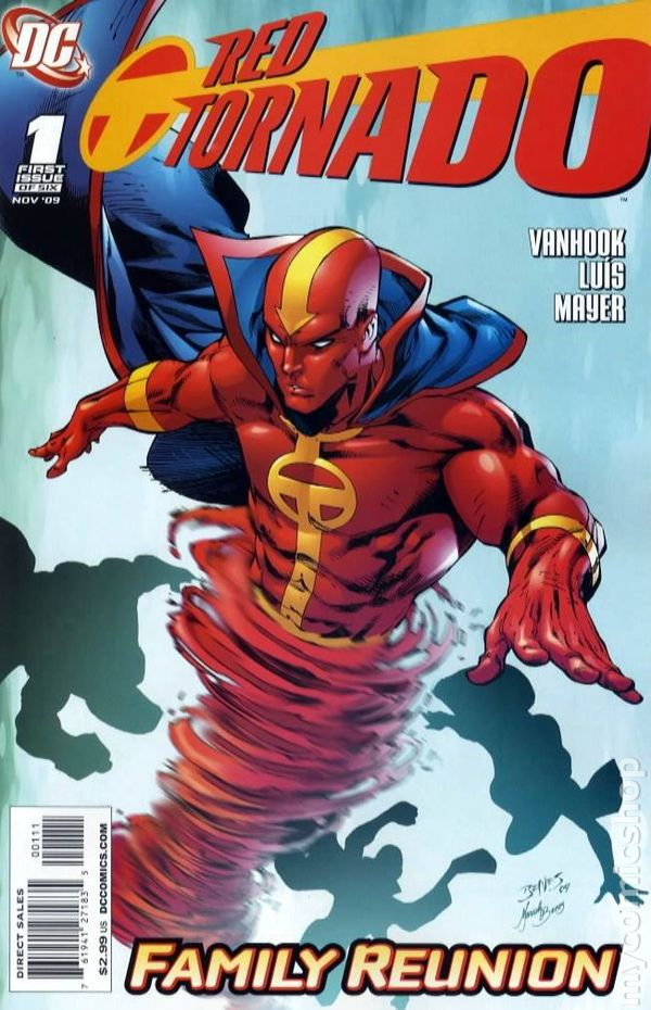 Red Tornado (2009 DC 2nd Series) comic books