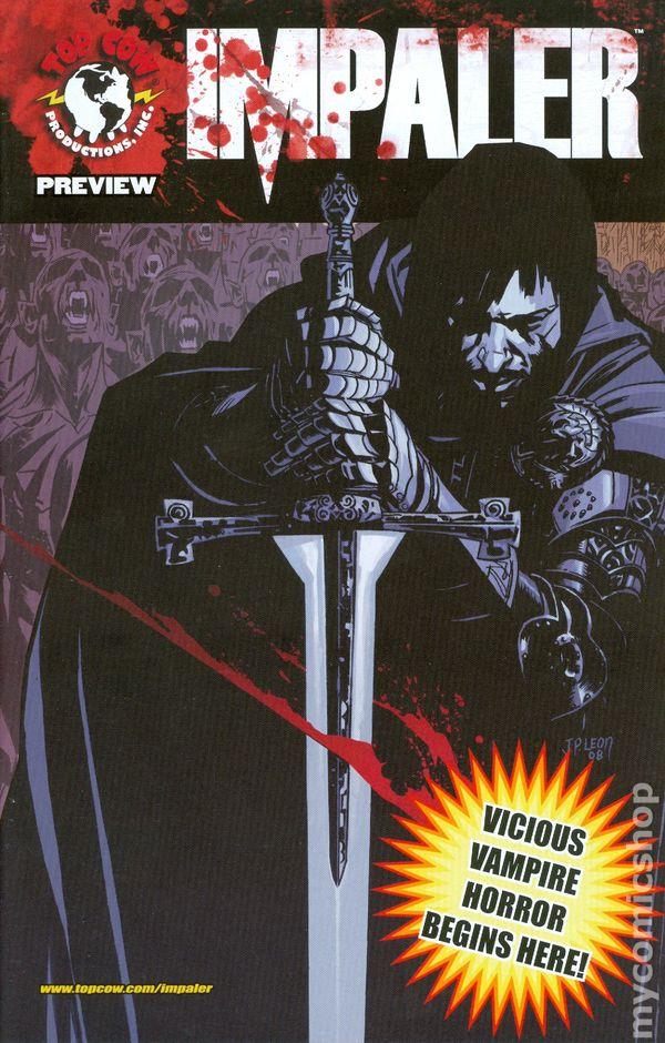 ImpalerBlack Vault Preview 2008 0A Comic books