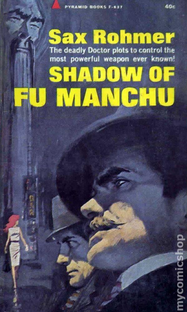 Dr Good The Return Of Dr Fu Manchu Pyramid R-1302 Sax Rohmer 1965 Fu Manchu