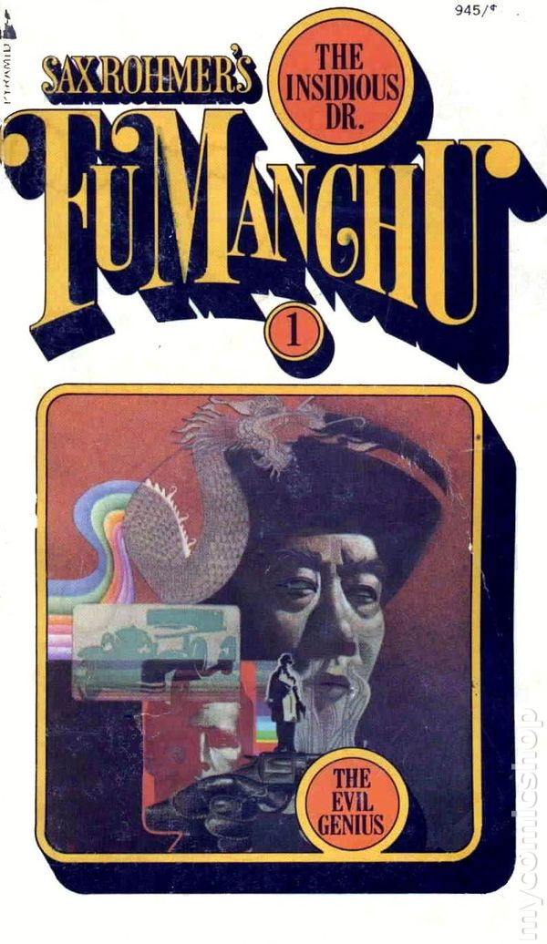 cba0634b599b1 Insidious Dr. Fu Manchu PB (1961 Pyramid Novel) comic books