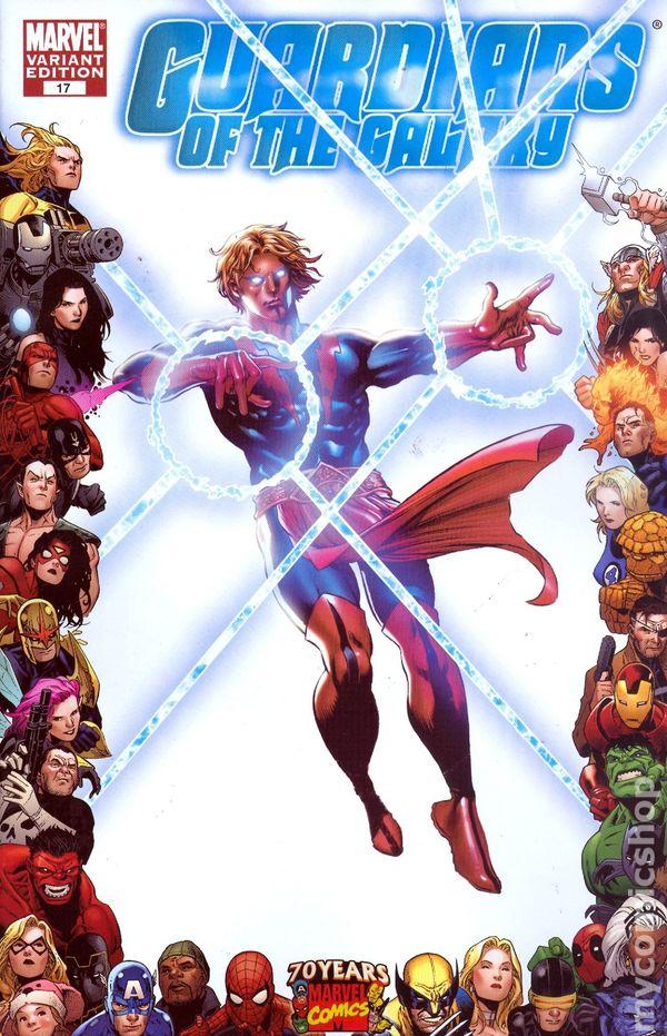 Guardians of the Galaxy #17 Joe Jusko  Variant  Marvel Comics CB16685