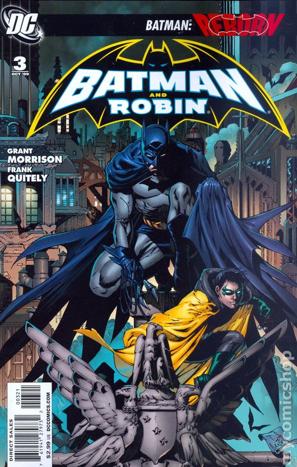 BATMAN #689 NEAR MINT 2009 DC COMICS BATMAN REBORN