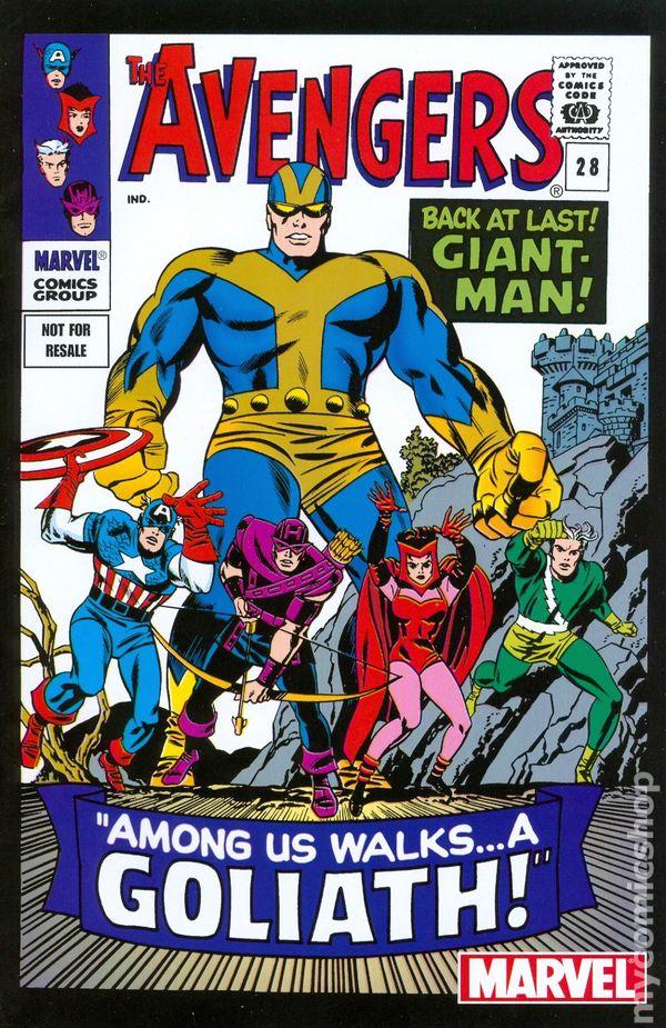 Avengers  1963 1st Series  Marvel Legends Reprint Comic Books