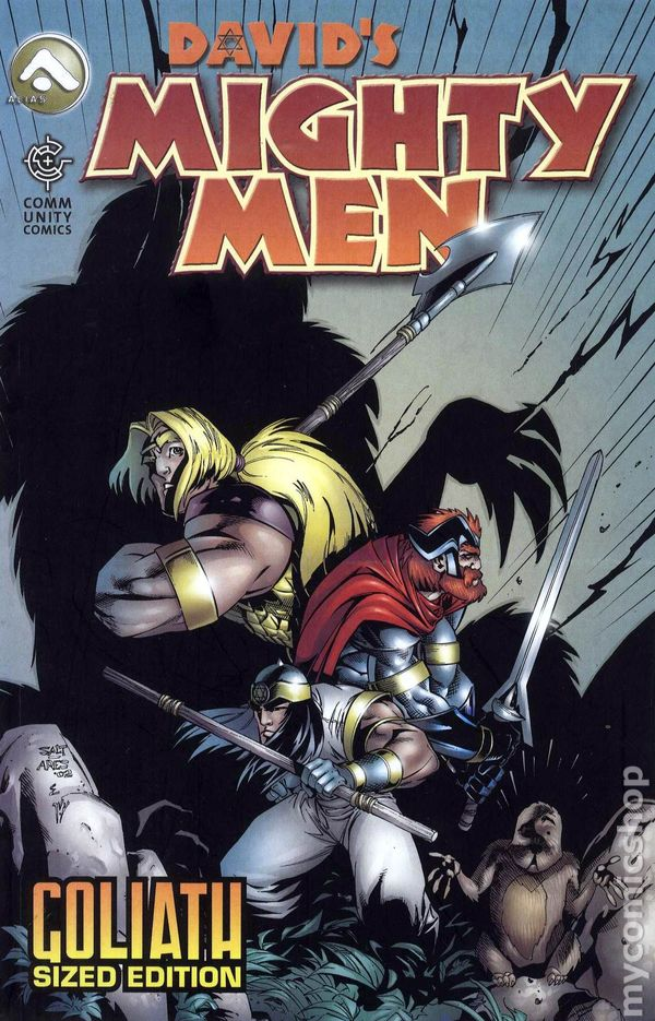 Davids Mighty Men GN 2005 Alias Goliath Sized Edition Comic Books