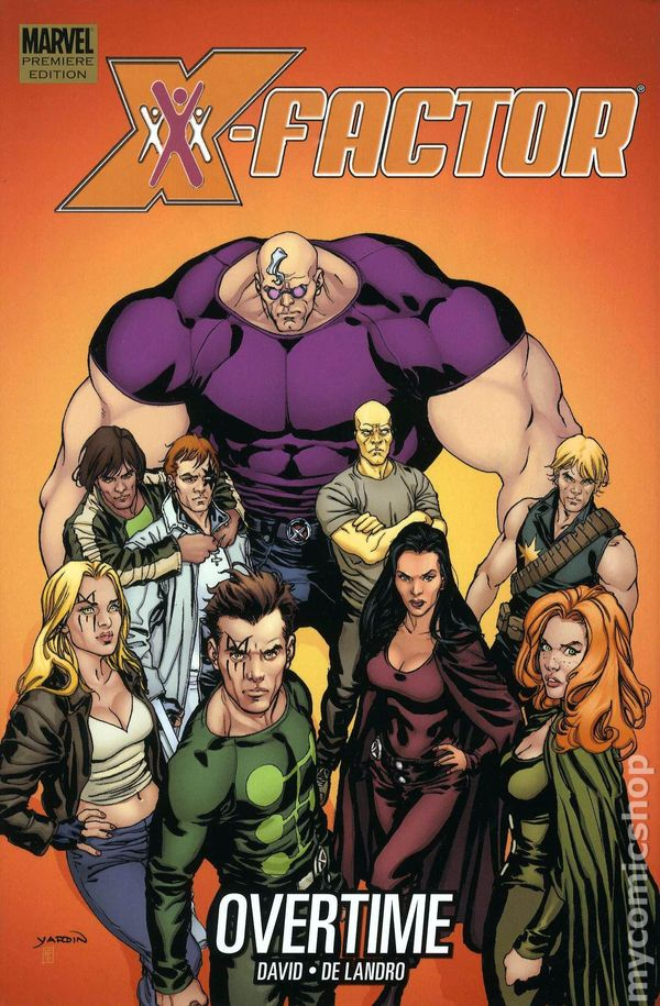X Factor Comic Books Issue 1