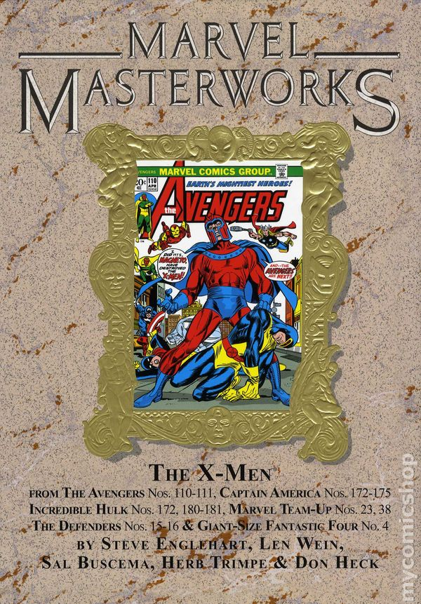 Marvel Masterworks Deluxe Library Edition Variant TPB #41-1ST NM 2012