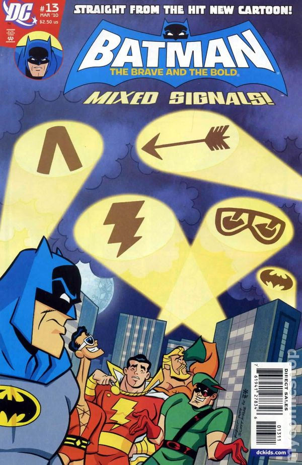 Batman The Brave and the Bold (2008) comic books