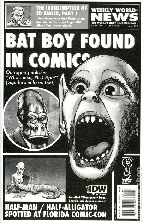Weekly World News Comic Books Issue 1