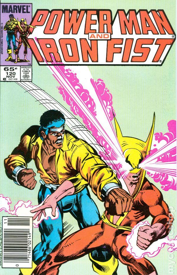 power man and iron fist comic - 600×931