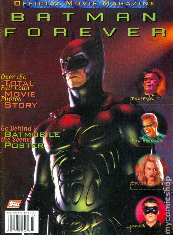 Batman Forever Official Movie Magazine 1995 Comic Books
