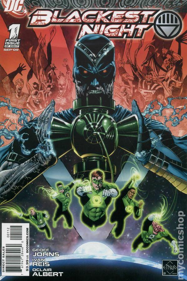 Blackest Night Issue 2 | Viewcomic reading comics online