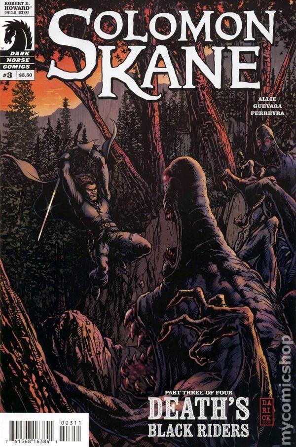 Dark Horse Tavern >> Solomon Kane Death's Black Riders (2009 Dark Horse) comic books