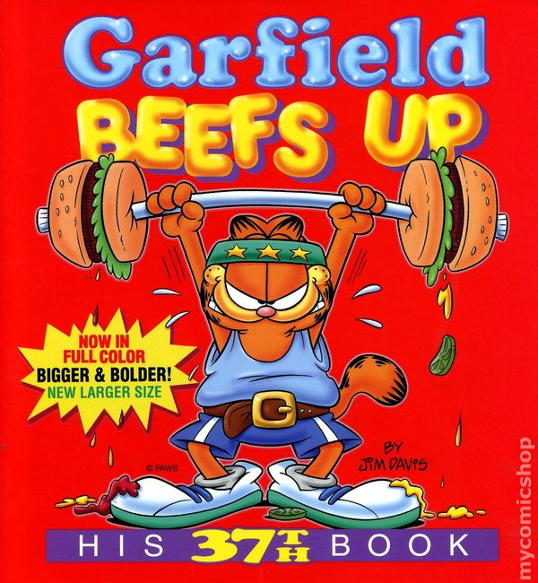 Garfield Beefs Up (His 37th Book)