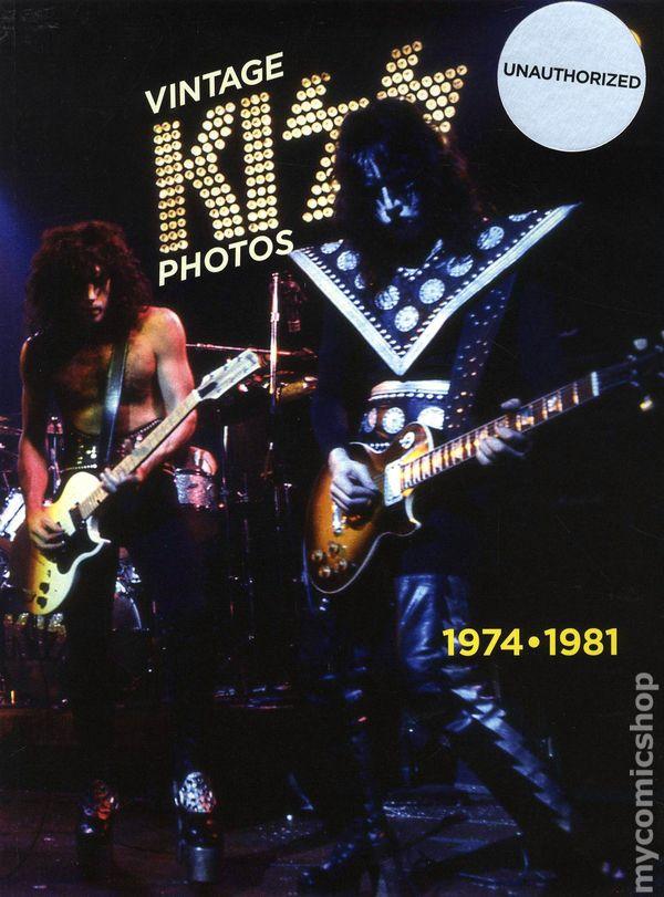 315797bb16a Vintage Kiss Photos 1974-1981 SC (2009) 1-1ST