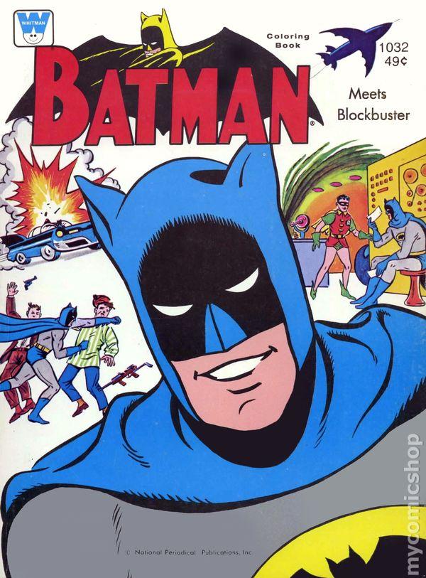 Batman Meets Blockbuster Coloring Book (1966) comic books