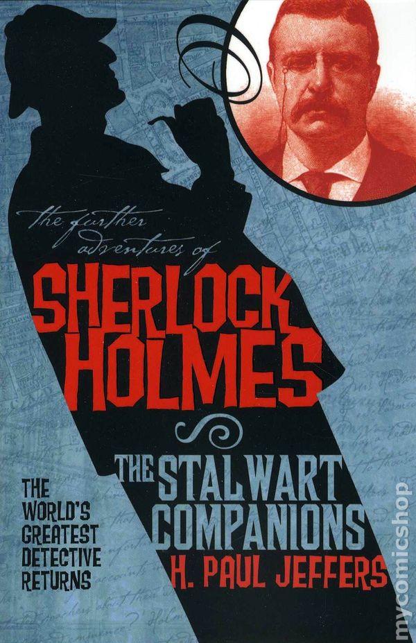 Comic Books In Sherlock Holmes Novel Titan Books
