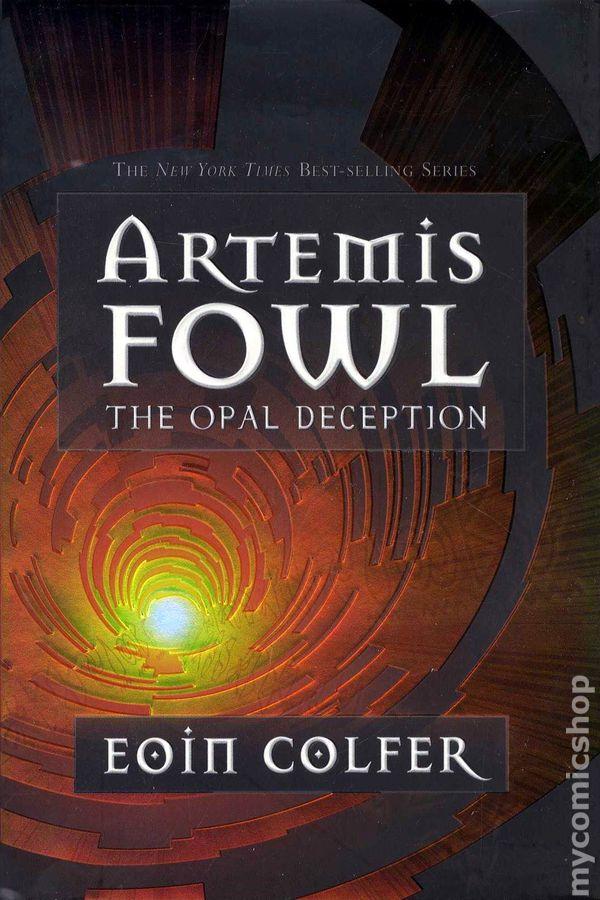 Artemis Fowl The Opal Deception Hc 2005 Hyperion Novel Comic Books