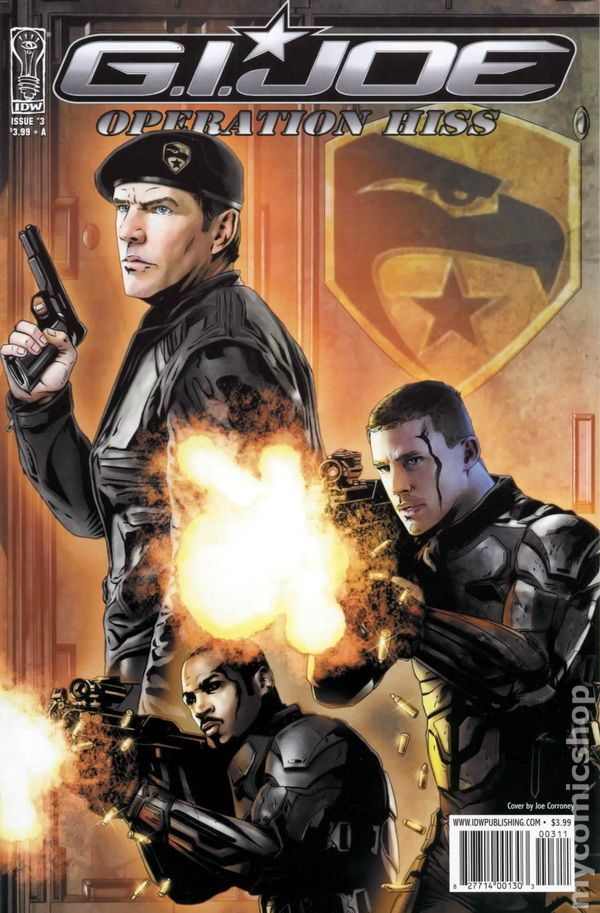 G.I Joe Operation Hiss #1 Virgin Variant Cover