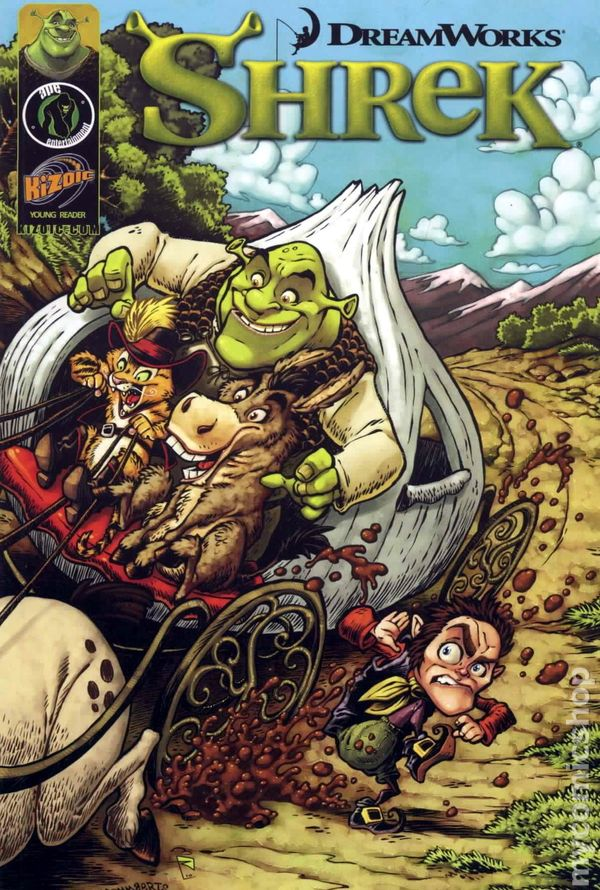 Shrek Forever After The Prequel 2010 Comic Books