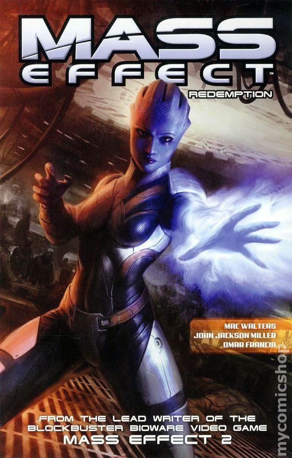 Mass Effect Foundation TPB #3-1ST NM 2014 Stock Image