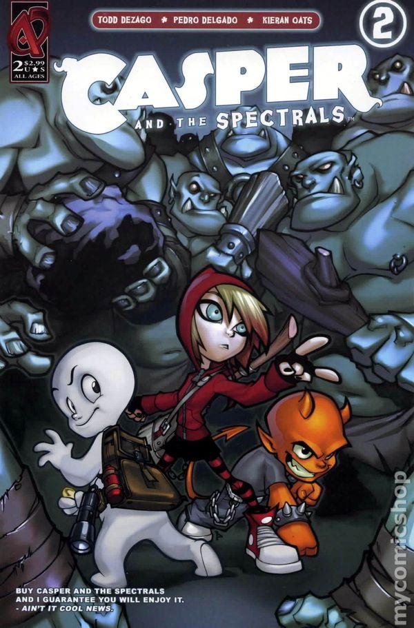 Casper And The Spectrals 2009 Ardden Comic Books
