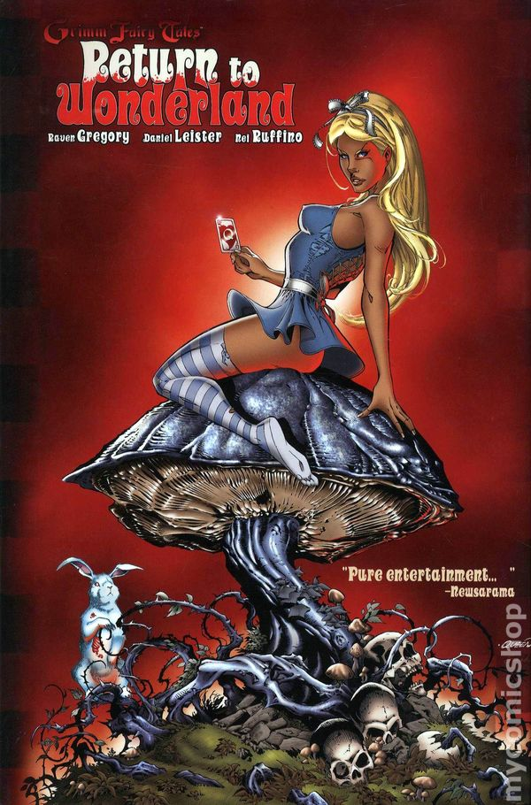 Twisted Fairy Tales Alice In Wonderland