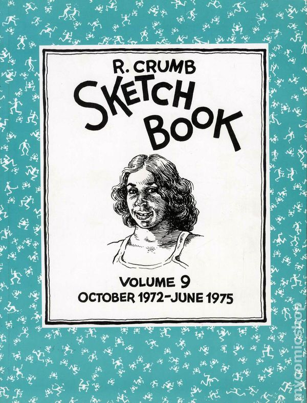 Comic books in art book r crumb sketchbook sc 1992 2004 fantagraphics 9 1st fandeluxe Choice Image