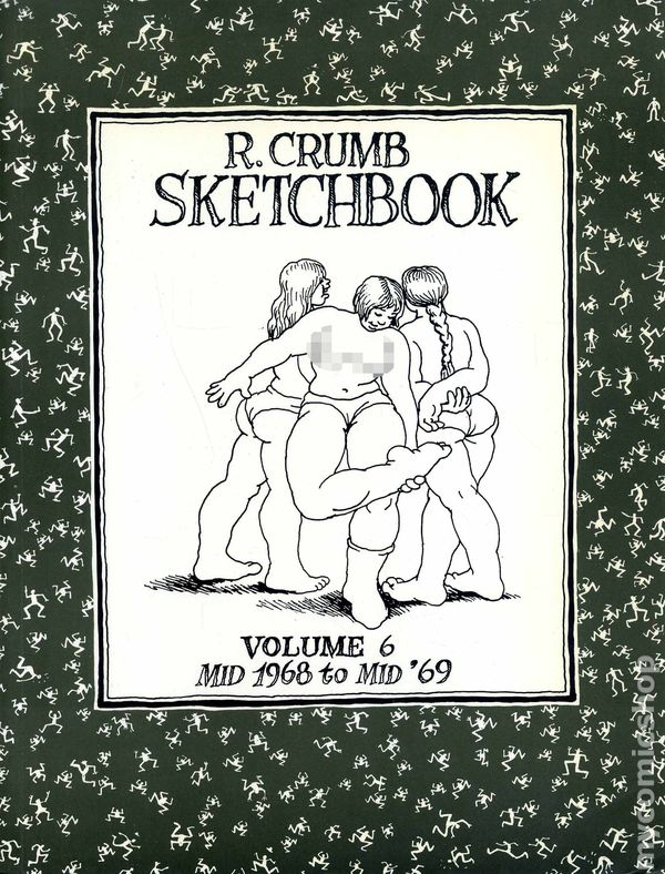 Comic books in art book r crumb sketchbook sc 1992 2004 fantagraphics 6 1st fandeluxe Choice Image