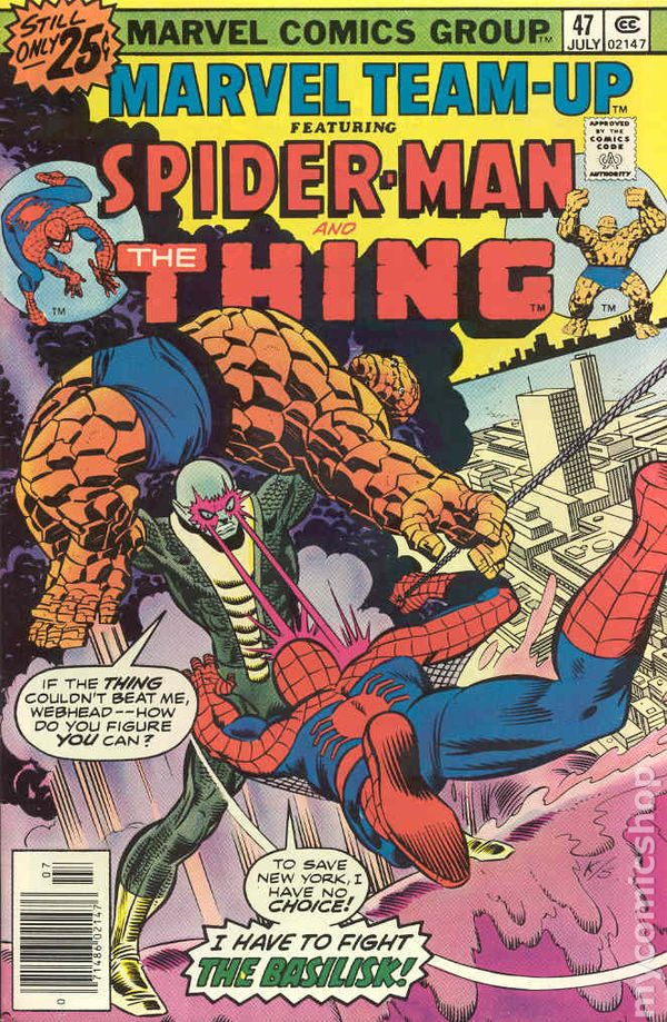 Marvel Team-Up #147 VG 1984 Stock Image Low Grade
