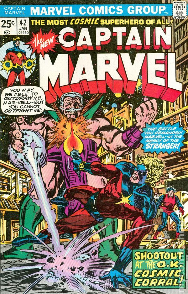 Captain Marvel 1968 1st Series Marvel Mark Jewelers