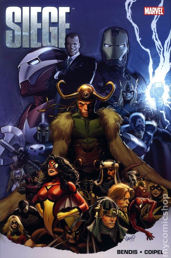 Image result for Siege comic cover
